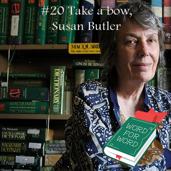 Image of podcast - take a bow Susan Butler