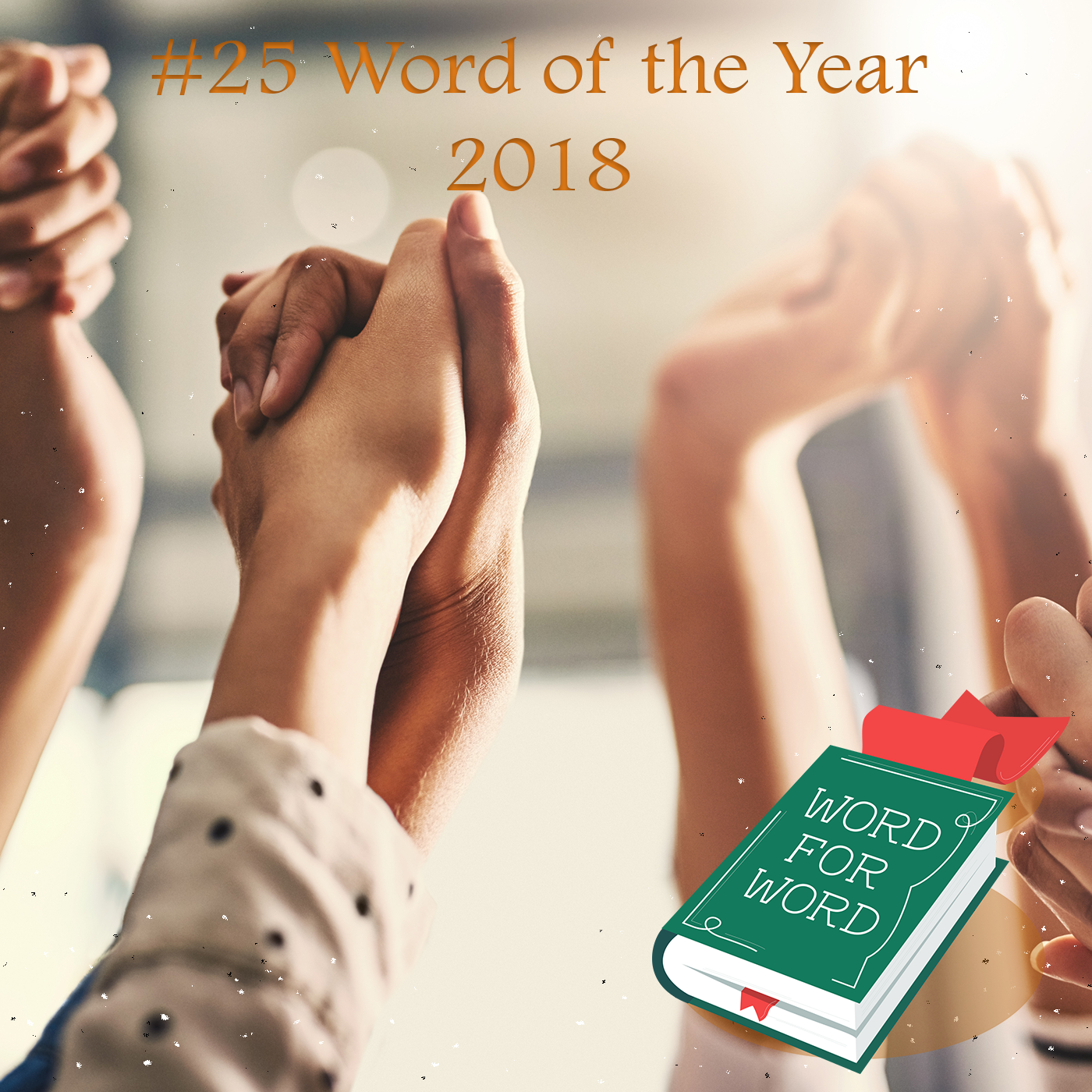 Image of: podcast, Word for Word ep 25 word of the year 2018
