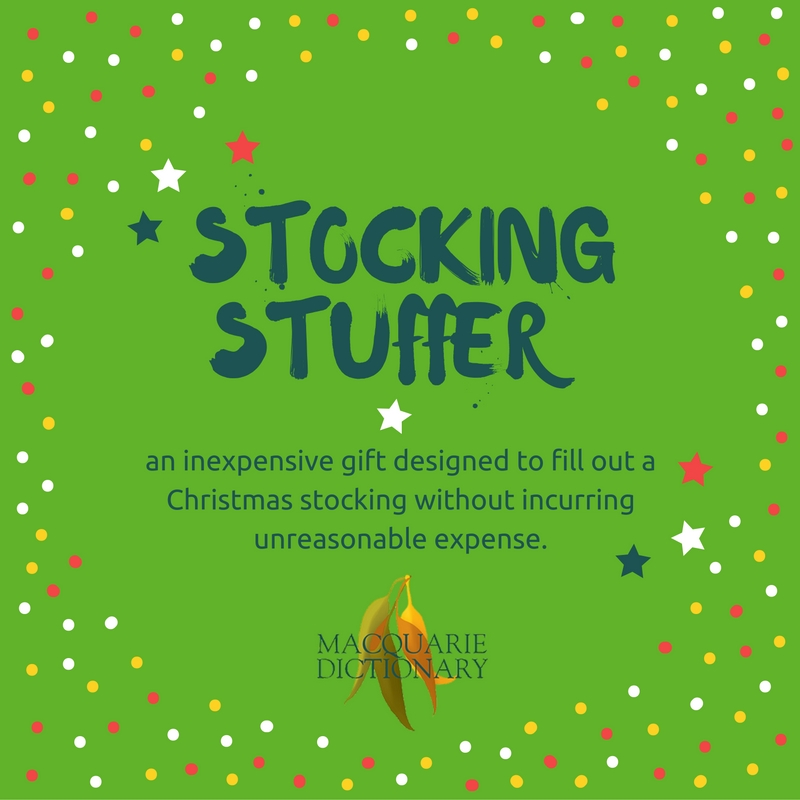 Stocking Stuffer_an inexpensive gift designed to fill out a Christmas stocking without incurring unreasonable expense