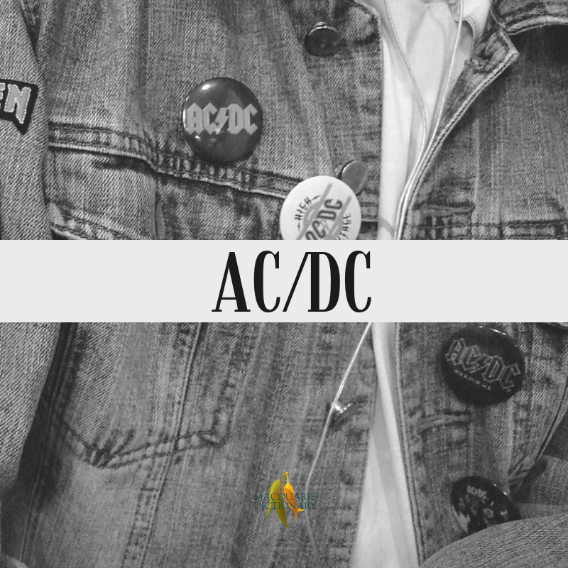 Macquarie Dictionary-AC/DC-Australian hard-rock group, formed in 1973; members have included Angus Young, Malcolm Young, Bon Scott, Brian Johnson (replacing Scott after his death), Cliff Williams, and Phil Rudd; inducted into the ARIA Hall of Fame in 1988.
