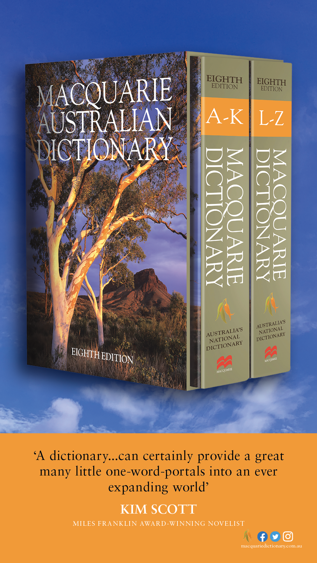 Macquarie Dictionary eighth edition tile 4