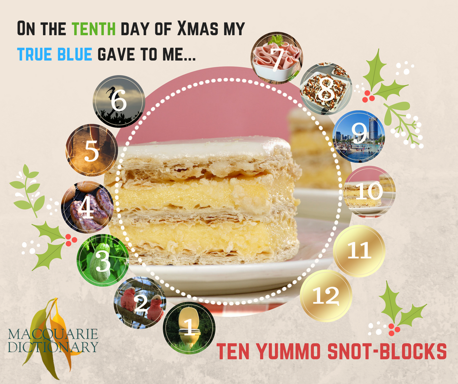 12 days of Aussie Christmas - ten yummo snotblocks