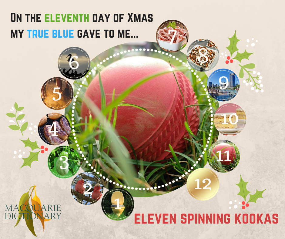 12 days of Aussie Christmas - eleven spinning Kookas