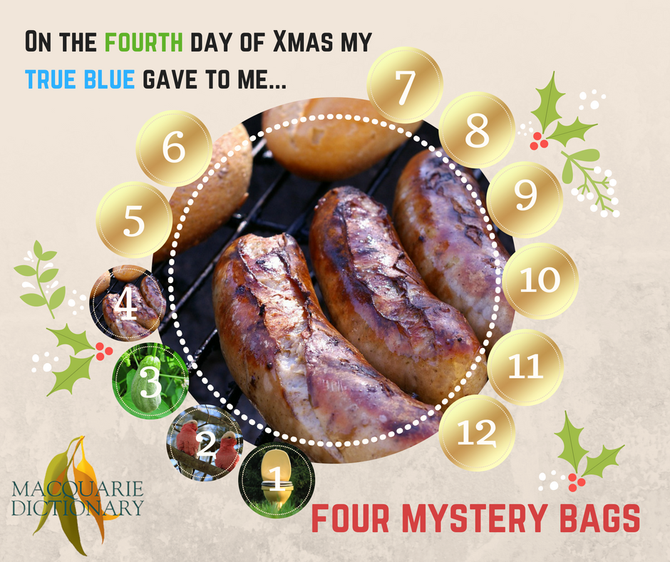 12 days of Aussie Christmas - four mystery bags