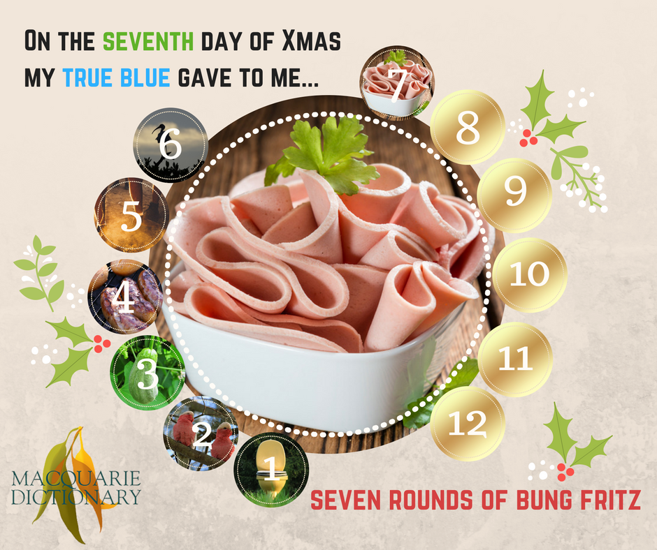 12 days of Aussie Christmas - seven rounds of bung fritz