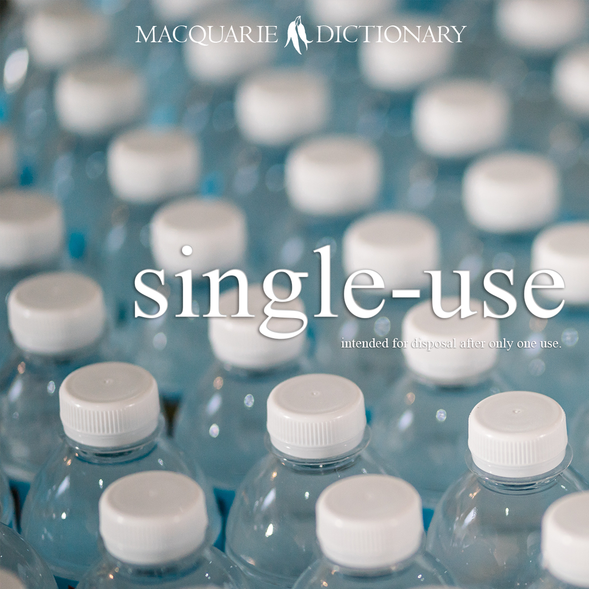 single-use - intended for disposal after only one use: single-use plastic bag; single-use cup.