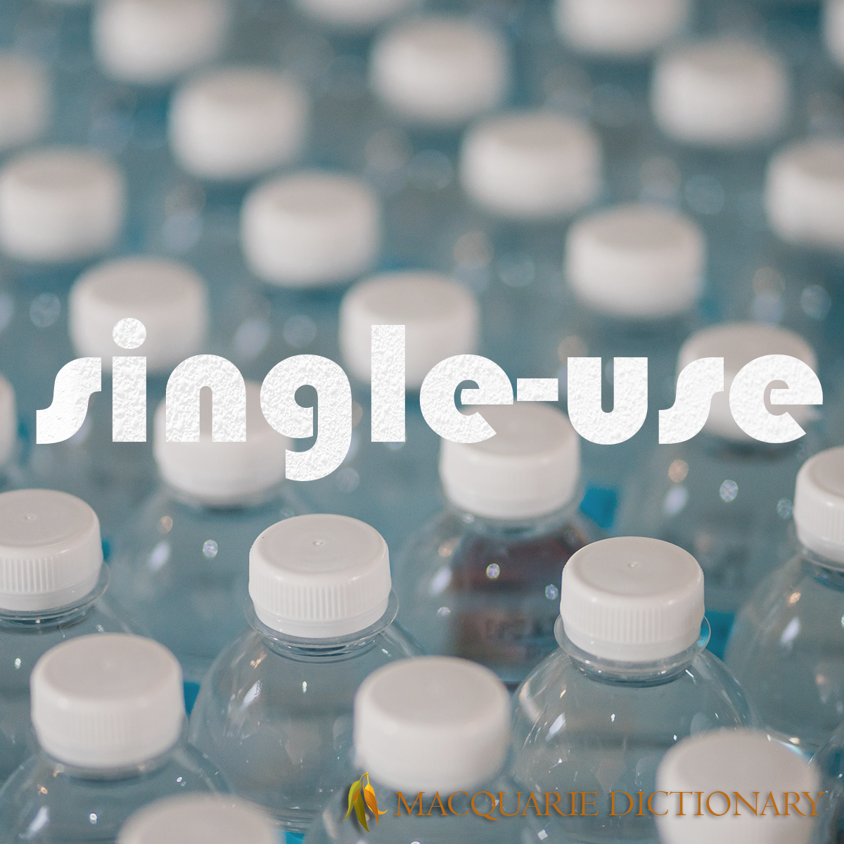 Image of Macquarie Dictionary Word of the Year - single-use - intended for disposal after only one use.