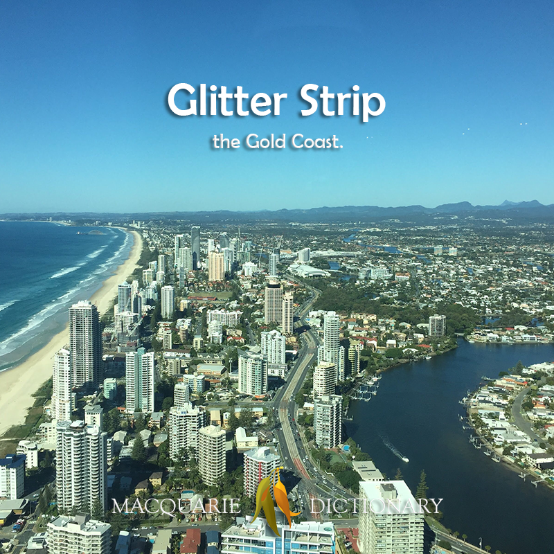 Glitter Strip - the Gold Coast
