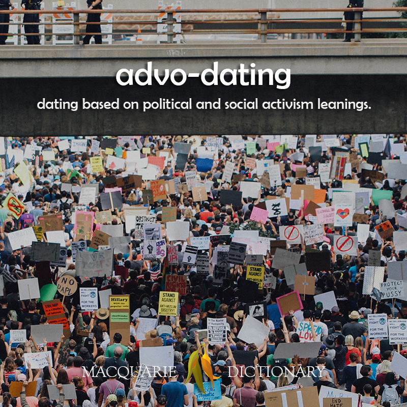 advo dating - dating based on political and social activism leanings