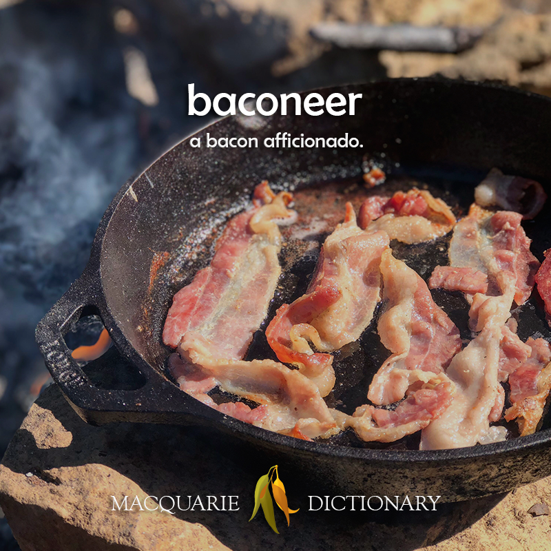 baconeer - a bacon afficionado