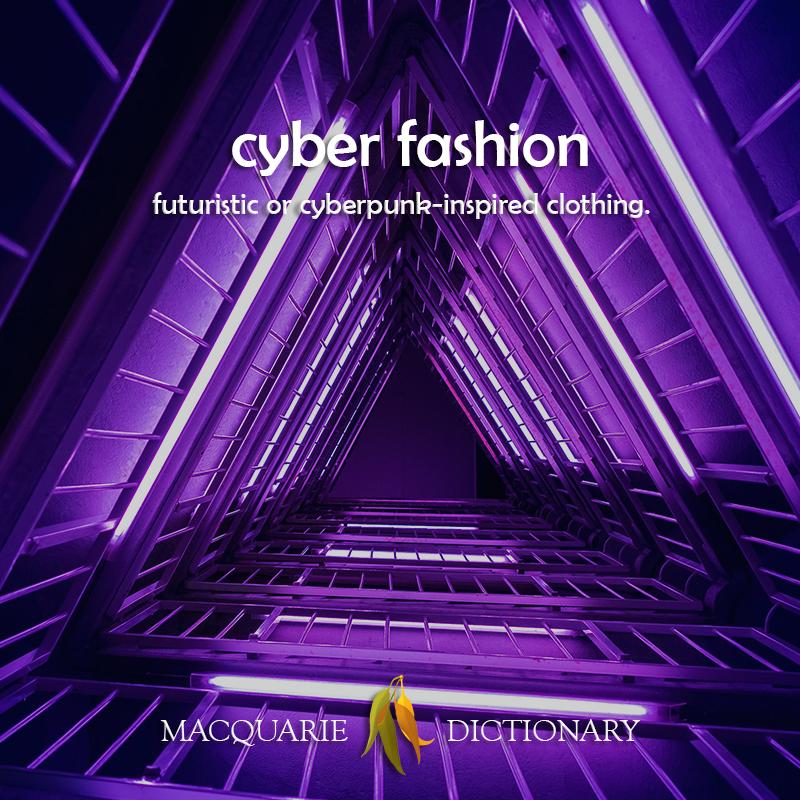 cyber fashion - Futuristic, cyberpunk inspired clothing