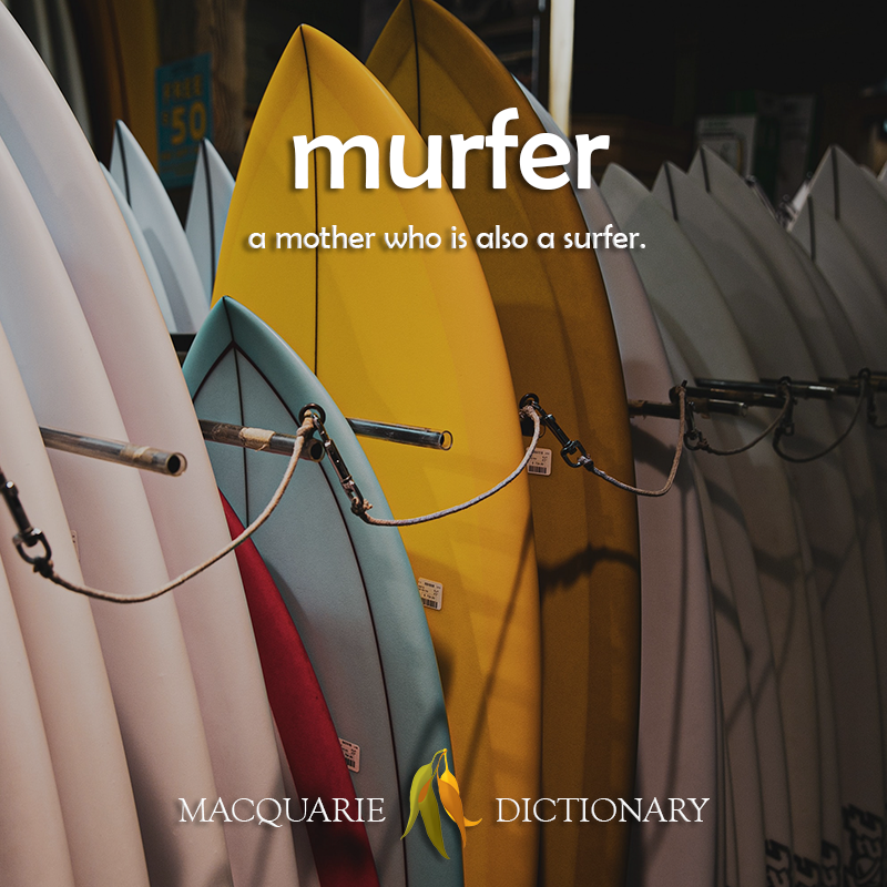 murfer - a mother who is also a surfer