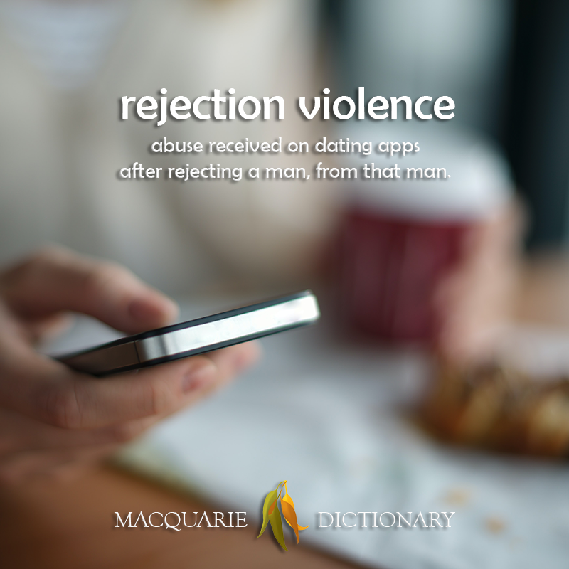 rejection violence - abuse received on dating apps after rejecting a man, from that man