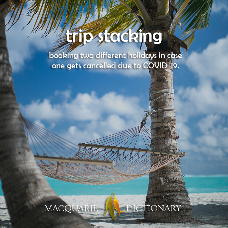 trip stacking - booking two different holidays in case one gets cancelled due to COVID-19