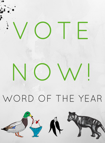Vote now for Word of the Year