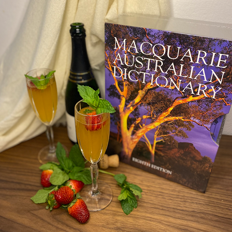 Macquarie Dictionary cocktail