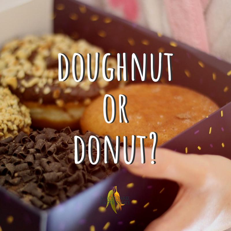 Doughnut vs donut