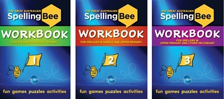 The Great Australian Spelling Bee Workbooks - OUT NOW